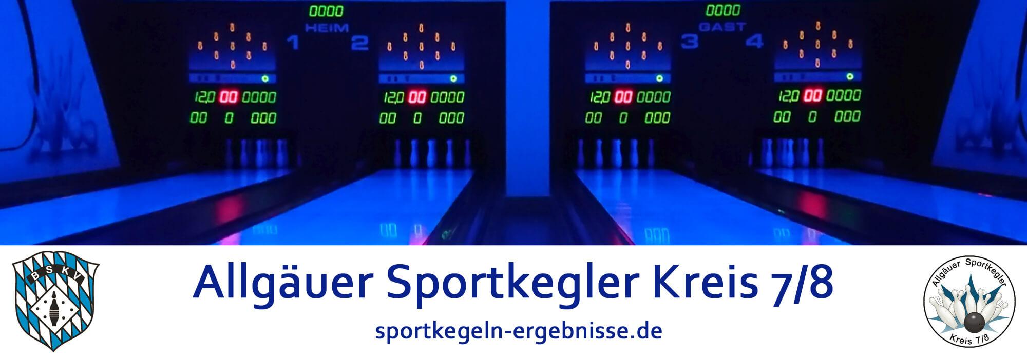 Allgäuer Sportkegler Kreis 7/8